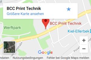 BCC Print Technik Anfahrt
